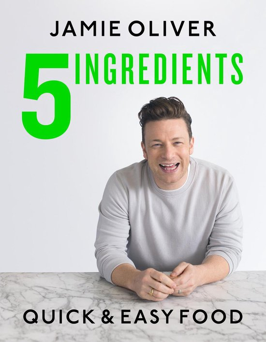 Afbeelding van Jamie Oliver 5 Ingredients - Quick & Easy Food