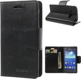 Goospery Sonata Leather hoesje Samsung Galaxy Ace 4 G357 zwart