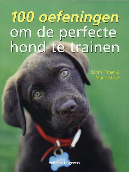 Cover van het boek '100 oefeningen om de perfecte hond te trainen' van Sarah Fisher en Marie Miller