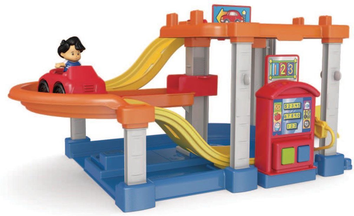 Fisher Price Little People Race Helling Garage