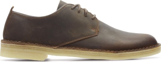 Clarks Desert London Heren Veterschoenen - Beeswax - Maat 40