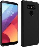 Pearlycase Zwart TPU Siliconen case hoesje voor LG G6