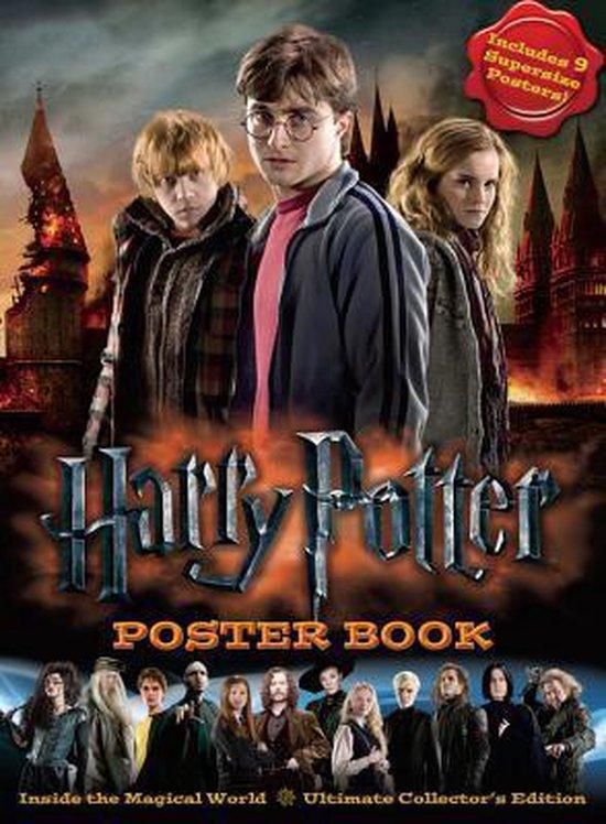 Boek cover Harry Potter Poster Book van Warner Bros. Games (Paperback)