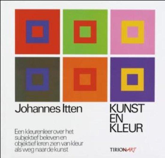 Cover van het boek 'Kunst en kleur'