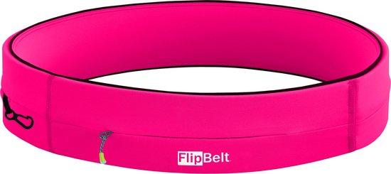 Flipbelt Rits Roze - Running belt - Hardloopriem - XL