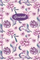 Watercolor Floral Journal