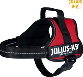 Julius k9 original power-harnas voor hond / tuig voor  voor labels rood Mini- S