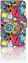 LG K4 Bookcase Hoesje Punk Rock