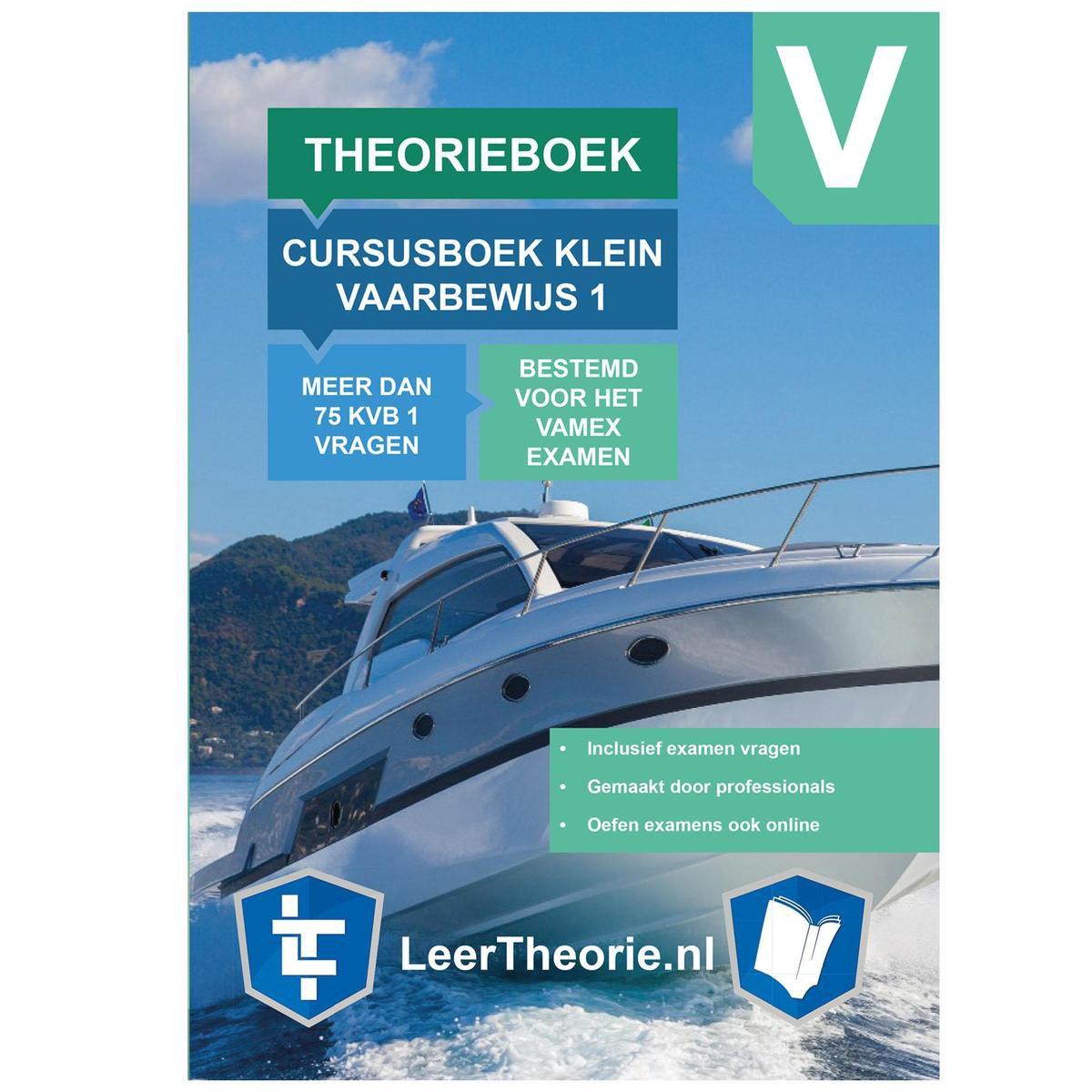 Vaarbewijs Theorieboek KVB 1 2021   Nederland   CBR Cursusboek Klein Vaarbewijs