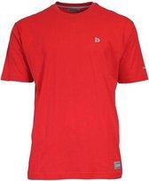 Donnay T-shirt - Sportshirt - Heren - Maat XL - Rood