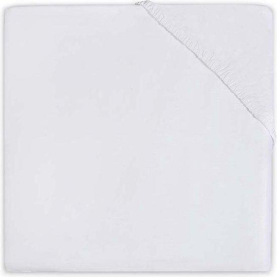 Jollein - Box Hoeslaken Jersey - 75x95 cm Wit