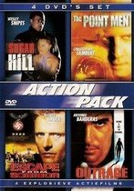Action Pack: Sugar Hill ,The Point Men ,Escape from Sobibor, Outrage