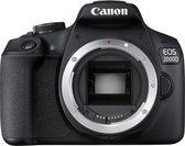 Canon EOS 2000D - Body - Zwart