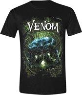 Venom - Venom Cover Mannen T-Shirt - Zwart - XXL