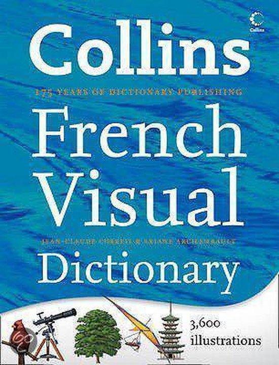Boek cover Collins French Visual Dictionary van Jean Claude Corbeil (Hardcover)