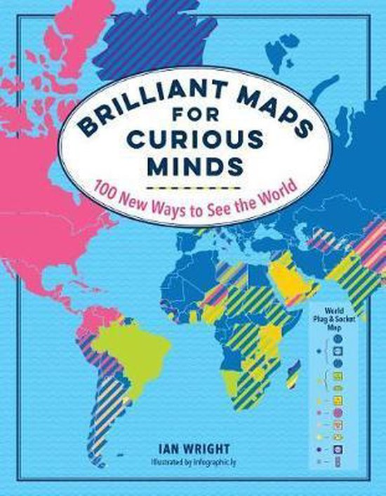 Boek cover Brilliant Maps for Curious Minds van Ian Wright (Hardcover)