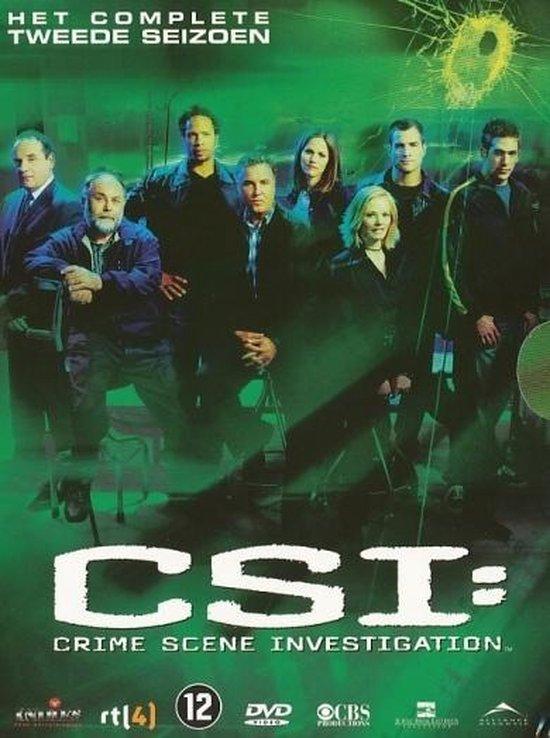 Cover van de film 'CSI: Crime Scene Investigation'