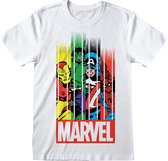 Marvel Baby T-shirt Maat 110/116