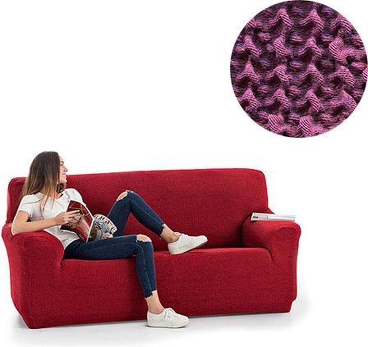 Milos meubelhoezen - Bankhoes 130-180cm - Paars - Verkrijgbaar in verschillende kleuren!