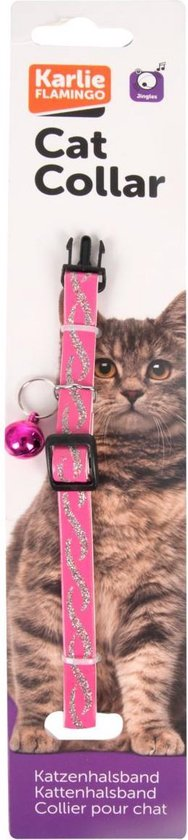 Cat collar gitterwave 30cm 10mm