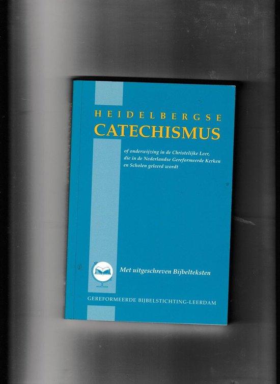Heidelbergse catechismus met uitgeschr. bybelt - none pdf epub