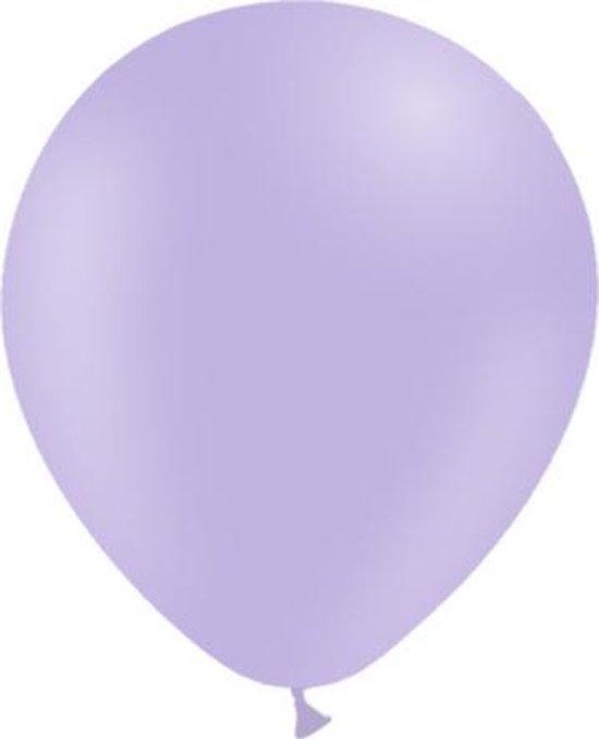 Lila Ballonnen Pastel 30cm 50 stuks