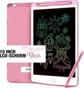 Melodii™ - LCD Tekenbord - Tekentablet voor kinderen | 10 inch kleurrijke digitale display | Elektronische grafische draagbaar tablet met geheugenslot | Leuke leermiddel voor kinderen om te schrijven en tekenen