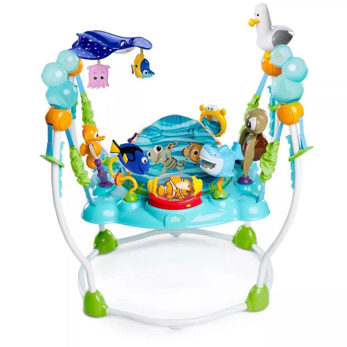 Disney Baby Sea of Activities Jumper Wipstoel - Finding Nemo blauw