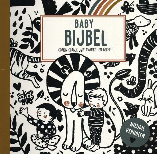Boek cover Babybijbel deel 2 van Corien Oranje (Hardcover)