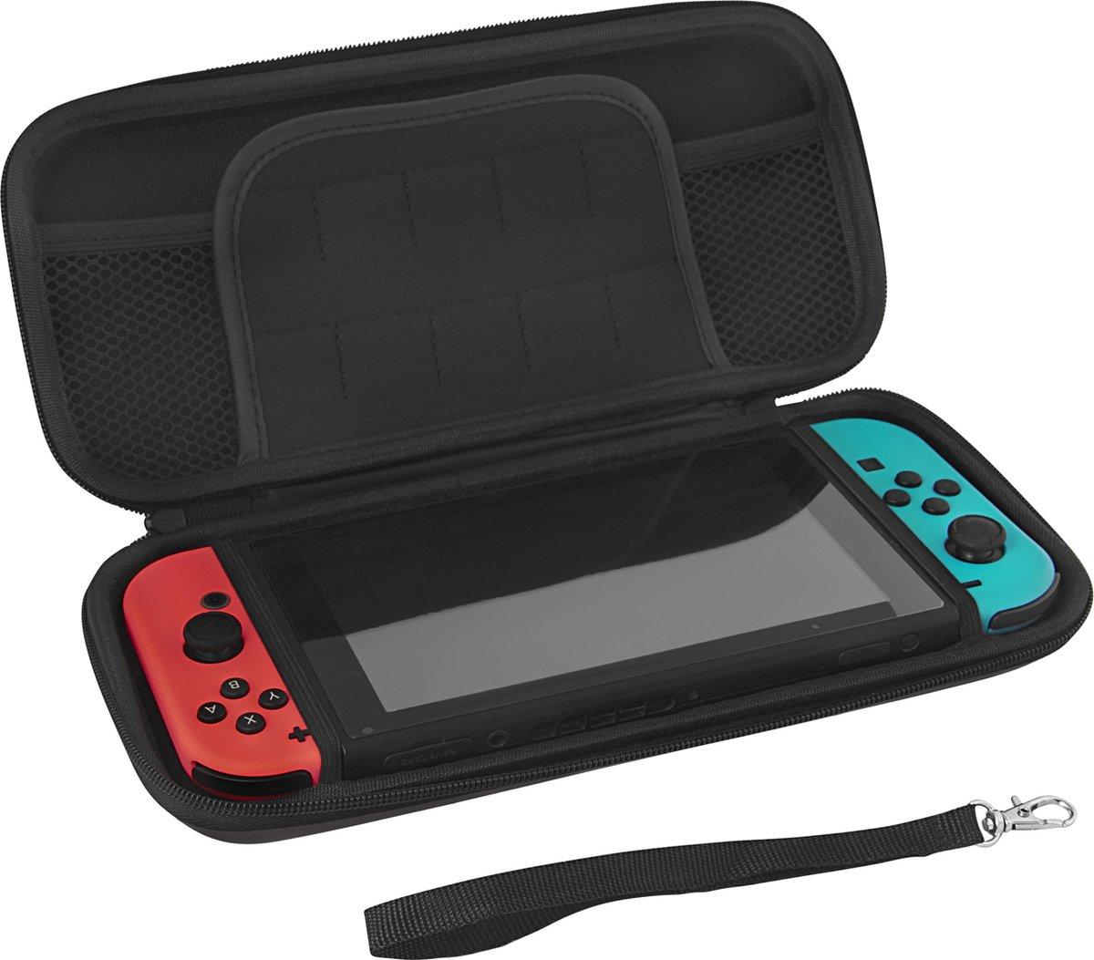 Nintendo Switch Case - Premium opberghoes - Zwart