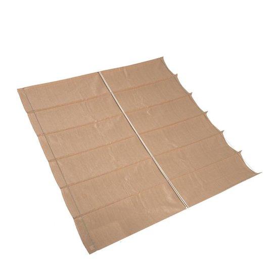 Nesling - Harmonica schaduwdoek - 2,9 x 3 - Sand