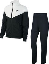 Nike Nsw Trk Suit Pk Dames Trainingspak - Black/White - Maat M