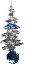 Ice 20 Sapphire van Swarovski kristallen ( Raamhanger , Raamkristal , Regenboogkristal  )