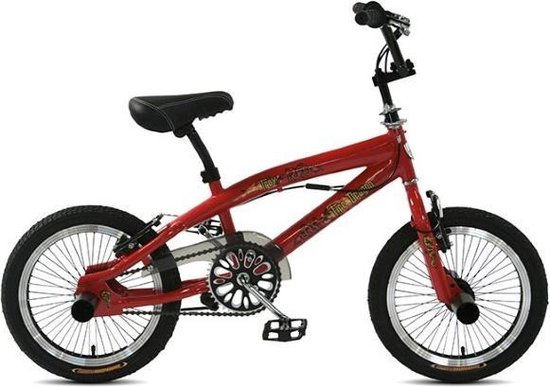 Troy Freestyle BMX Crossfiets 16 inch Red Kinderfiets