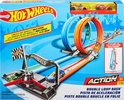 Hot Wheels Action Dubbele Loopingrace Speelset