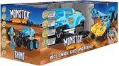 Monster Smash Ups Rhino - Bestuurbare auto