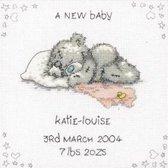 borduurpakket TT100 me to you, geboorte, a new baby