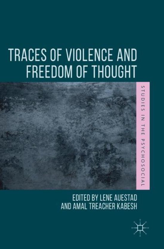 Boek cover Traces of Violence and Freedom of Thought van  (Hardcover)