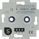 Q-Link S2 Universele Duo LED Dimmer Inbouw 6-50W