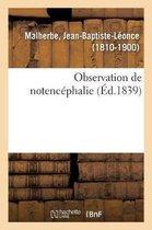 Observation de notencephalie