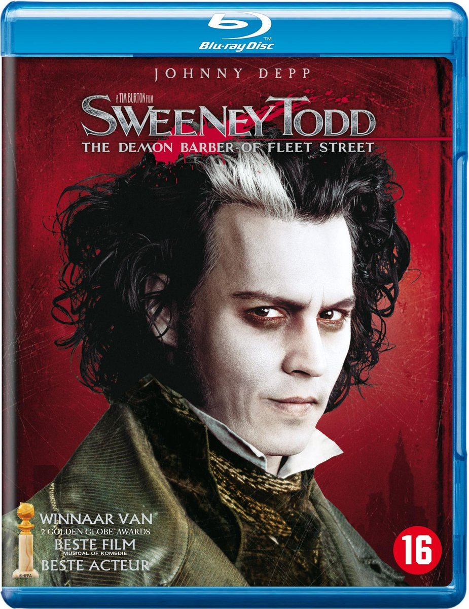 Sweeney Todd: Demon Barber Of Fleet Street (Blu-ray) - Musical