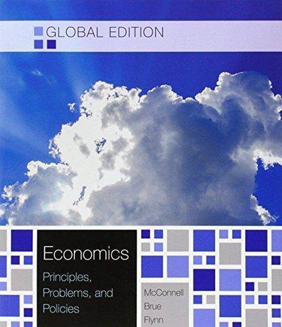 Boek cover Economics van Campbell R. Mcconnell (Paperback)