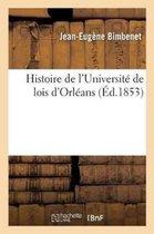 Histoire de l'Universit� de Lois d'Orl�ans