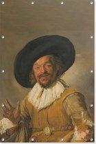 De vrolijk drinker   Frans Hals   ca. 1628 - ca. 1630   Kunst   Tuindoek   Tuindecoratie   80CM x 120CM   Tuinposter   Spandoek   Oude meesters