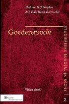 Boek cover Goederenrecht van H.J. Snijders