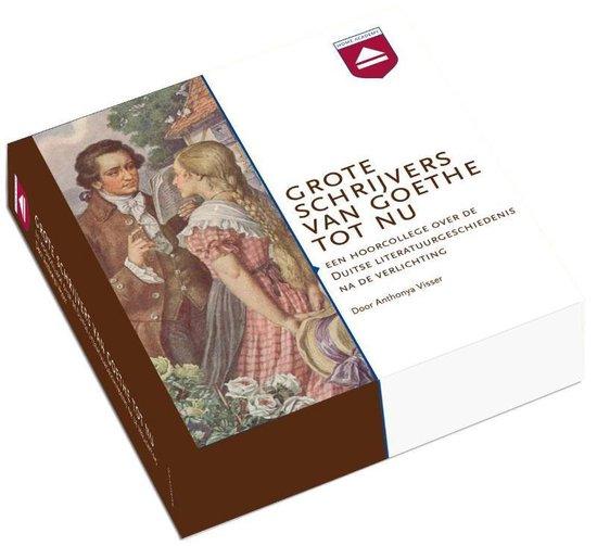 Grote schrijvers van Goethe tot nu (luisterboek) - Anthonya Visser |
