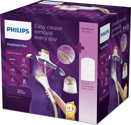 Philips EasyTouch Plus GC524/60 - Kledingstomer