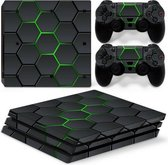 Hex Lime - PS4 Pro Console Skins PlayStation Stickers