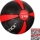 Gymstick Medicine bal - 3 kg - Met trainingsvideo's