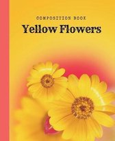 Composition Book Yellow Flowers